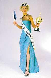 19-летняя обладательница титула TopModel Universe Алена Кордас из Силламяэ