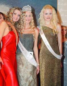 «Мисс Эстония — 2004». Титул Второй принцессы завоевала 19-летняя обладательница титула TopModel Universe Алена Кордас из Силламяэ
