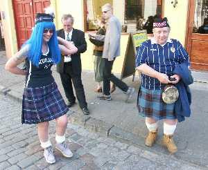 Как называется юбки у шотландии мужская